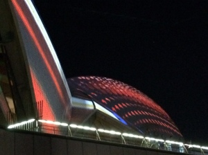 Crane your neck to see Vivid at the Opera House