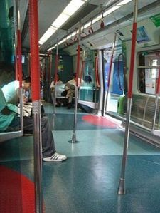 A Not So Crowded Train
